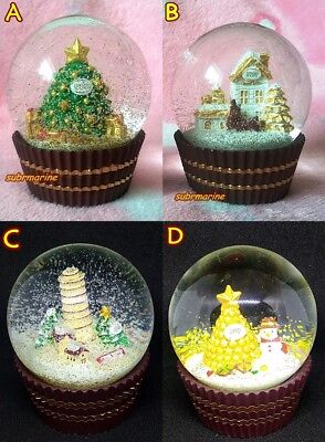 Ferrero Rocher Christmas Crystal water snow ball/ snow dome /snow globe  4 types