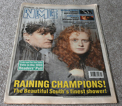 NME – 15.12.1990 – Beautiful South, Sisters Of Mercy, Vanilla Ice, Chris Isaak