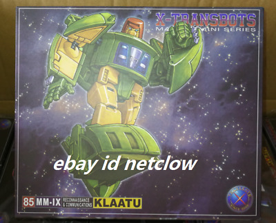 Transformers X-Transbots MM-IX Klaatu Cosmos in Stock