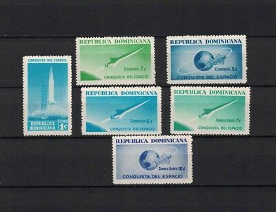 Dominican Republik 1964 Minr 836-841 ** / mnh Weltraum Space Rakete Mercury