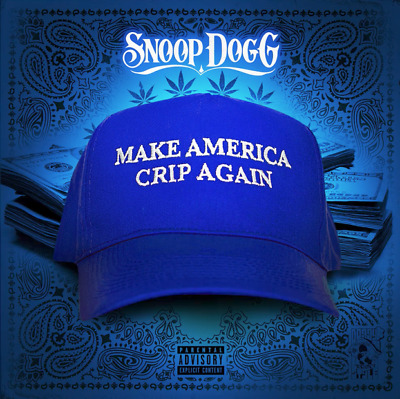 Snoop Dogg Make America Crip Again Official Mixtape CD Hip-Hop 2017