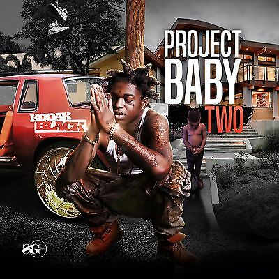 Kodak Black Project Baby 2 Official Promo Sealed Mixtape Album 2017 New Music