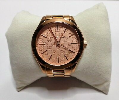 c21ecde2a969 Michael Kors MK3336 Slim Runway Stainless Steel Rose Gold Tone Women s Watch