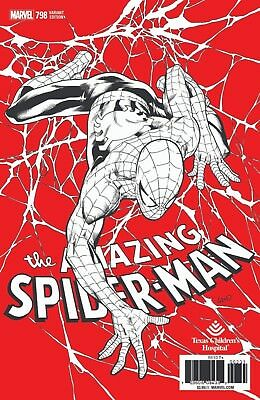 Amazing Spiderman 798 Greg Land Texas Childrens Hospital Variant Pre-Sale 4/4
