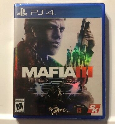 Mafia III [ Mafia 3 ] (PS4) NEW & SEALED