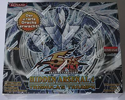 Yu-Gi-Oh! Hidden Arsenal 4 Display Deutsch - 24 Booster Packungen - NEU/OVP
