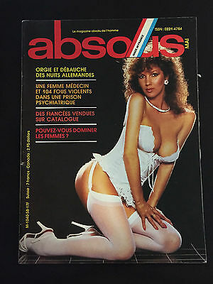 ABSOUS Magazine Vintage French IRINA IONESCO Rainer Fassbinder MICHAEL JACKSON