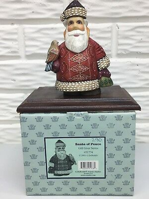 "G. DeBrekht 2003 Limited Ed. 7""Santa of Peace #51774 Gift Giver Series Box & CoA"