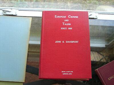European Crowns and Talers by Davenport             reduced 3/18