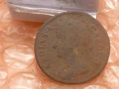1674 Charles II Colonial Farthing #A