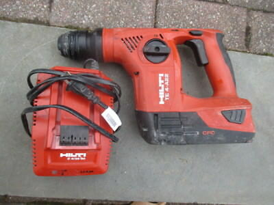 Hilti Te4-A22 Cordless Sds+ Rotary Hammer Drill W B22-5.2 Battery 18V +Charger