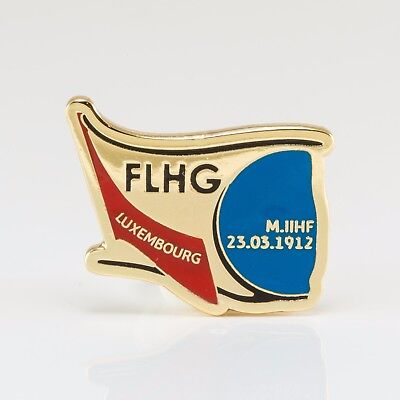 Ice Hockey Federation of Luxembourg pin, badge, lapel, hockey