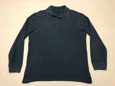 99daa8178 Hugo Boss Jumper Sweater Mens ~ Size Large ~ Good Cond Black Label Long  Sleeves