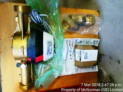 Powogaz water meter 6.3Qm/Hr  HR80 VR 40 Comes with fittings and Solenoid