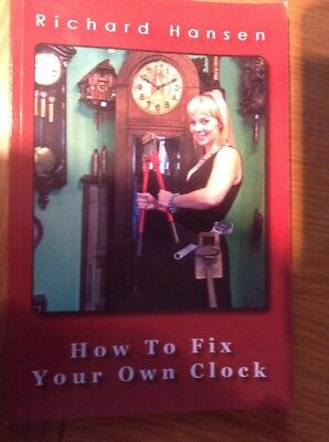 How To Fix Your Own Clock, Small Pocket Book, Brand New