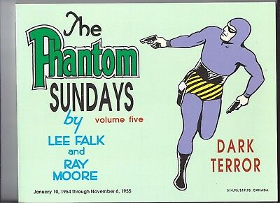 The Phantom Sundays Lee Falk Volume 5 Dark Terror 1954 - 1955  book EXCELLENT