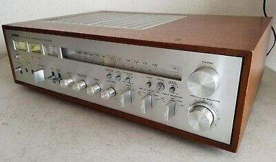 Vintage Yamaha CR-1020 Stereo Receiver - *Tested/Works* WATCH VIDEO