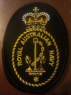 Royal Australian navy badge patch ran dpnu uniform New genuine