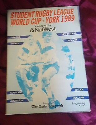 29 01 1989 RUGBY League Programme Chorley Borough v Thatto Heath
