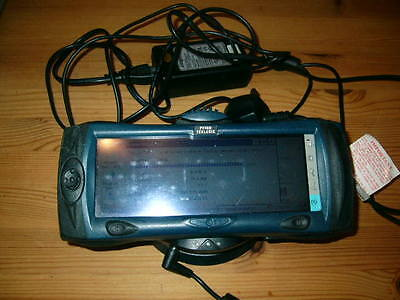 Psion Teklogix netpad plus charging cradle and cables