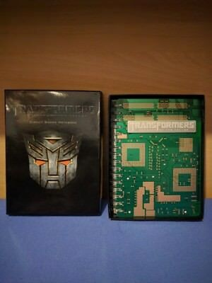 Transformers Revenge of the Fallen Circuit Board Notebook COLLECTORS ITEM