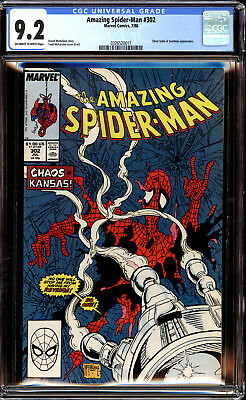 Amazing Spider-Man 302 CGC 9.2 NM-