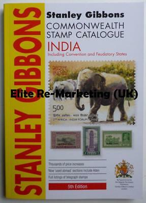 INDIA & Indian States 2018 (5th Edition) SG Commonwealth Stamp Catalogue (NEW)