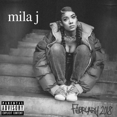 Mila J February 2018 Front/Back Artwork 2018 CD Mixtape Album