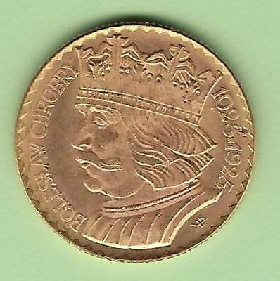 1925 Poland Gold 20 Zlotych in Uncirculated Condition
