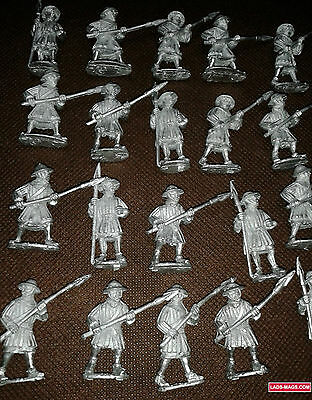 Bretonnian Men At Arms Medieval, War of the Roses - Metal (20 models) Warhammer