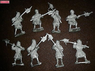 Warhammer Bretonnia Men At Arms, War of the Roses Medieval, Metal (8 models)