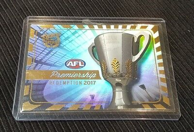 2017 AFL Select Certified Premiership Redemption - Richmond Tigers 563/700 Rioli