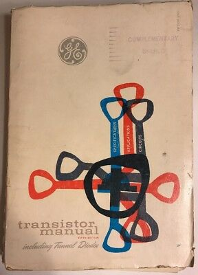 GE TRANSISTOR MANUAL 1960 5th Edition book, radio repair /  Tunnel Diodes