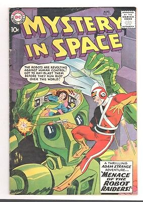 Mystery in Space #53 (Aug 1959, DC) 1st Adam Strange in Mystery in Space
