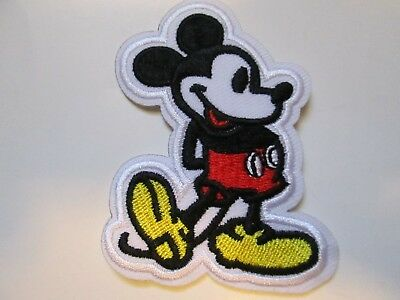 Mickey Mouse Embroidered Patch Iron/sew On ~Usa Seller~