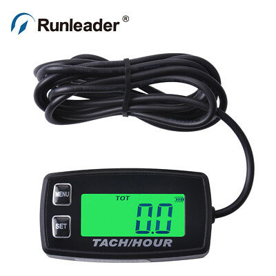 LCD Backlight Tachometer 035R Tachometer Chainsaw tachometer motorcycle Marine