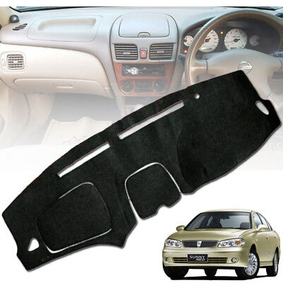 Black Dash Cover Dashmat Pad Carpet For Nissan Titan 2004 2011 2012