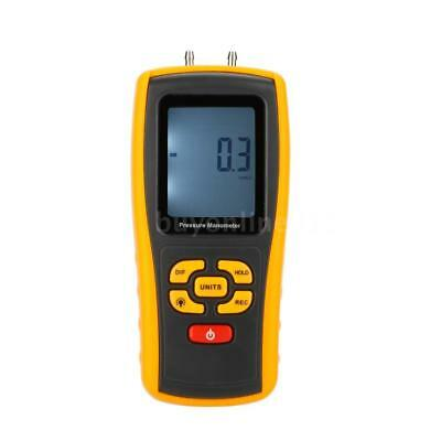 GM520 Portable USB Digital LCD Differential Pressure Gauge Meter Manometer Z1Y0