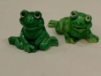2 Happy Frogs – 1986 Ü-Ei Figuren Wert ca. 17€