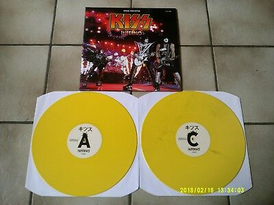 Kiss - Inferno - Special Tour Edition - Yellow Wax 2LP