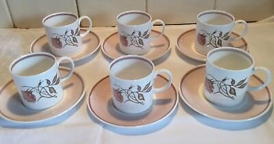 Vintage Susie Cooper 12 Piece Coffee/tea Set Talisman C1139 Bone China Wedgwood