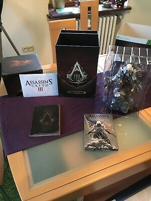 Assassins Creed 3 Freedom Edition, inkl. Connor Figur, XBOX360, Uncut,