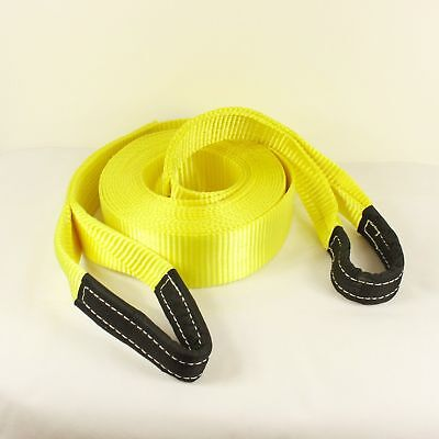 Recovery Winch 4x4 Tow Snatch Strap 6 Meter Tow Rope 13.5Ton Towing Offroad