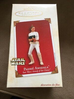 Star Wars Hallmark Collectible PADME` AMIDALA Attack of the Clones 2003 MINT **