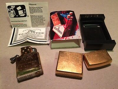 Marlboro / 2003 /  Brushed Brass / Zippo / Lighter