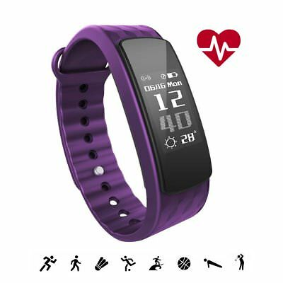 iWOWNfit i6 HR Fitness Tracker Smart Bracelet with Heart Rate Monitor Activity