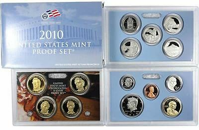 2010 S US Mint Proof 14 Coin Set