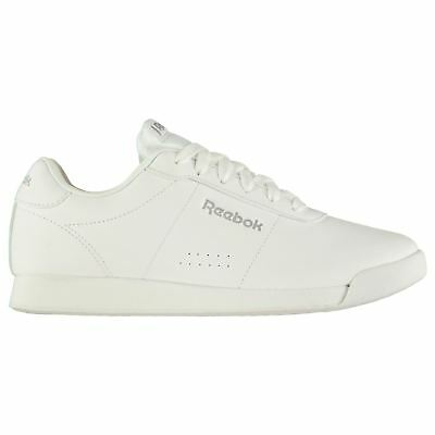 a108539da53 Reebok Royal Charm Sneakers Ladies Low Laces Fastened Leather Upper  Ortholite