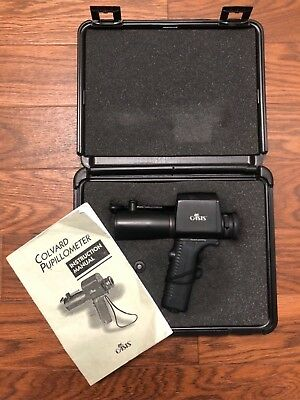 Oasis Medical Colvard Pupillometer with Case and Manual. Used