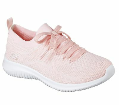 f41f3a197d45 PINK SKECHERS SHOES Memory Foam Women Slip On Comfort Casual Knit Mesh  12841 -  49.79